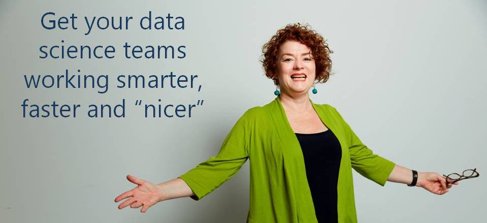 talk to cindy tonkin about your data science team